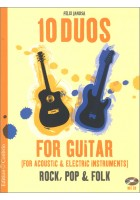 10 Duos for Acoustic & Electric Guitar